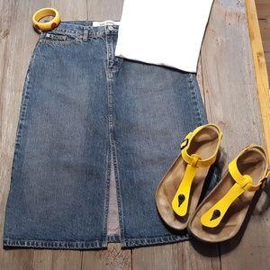 Vintage Gap Mid-length Skirt
